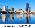 orlando lake eola in the... | Shutterstock . vector #189273395