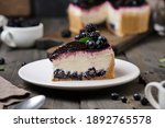 Delicious Cheesecake With Wild...