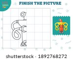 copy and complete the picture... | Shutterstock .eps vector #1892768272