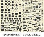 set of vintage styled design... | Shutterstock .eps vector #1892785312