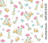 seamless pattern with... | Shutterstock .eps vector #1892815435