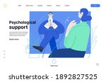 medical insurance web template  ...   Shutterstock .eps vector #1892827525