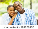close up portrait of african... | Shutterstock . vector #189283958