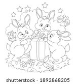 black and white illustration...   Shutterstock .eps vector #1892868205