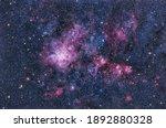 The Tarantula Nebula In The...