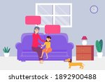 quality time vector concept ... | Shutterstock .eps vector #1892900488