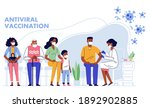 people vaccination concept for... | Shutterstock .eps vector #1892902885