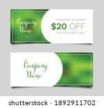 discount voucher card template... | Shutterstock .eps vector #1892911702