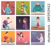 web bloggers. influencers... | Shutterstock . vector #1892925412