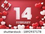 happy valentine's day sale... | Shutterstock .eps vector #1892937178