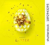 happy easter  background....   Shutterstock .eps vector #1892943295
