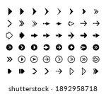 web arrows. symbols for website ... | Shutterstock . vector #1892958718