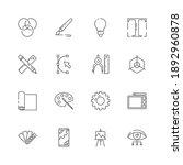 graphic tools icons. web design ...