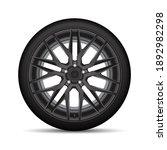 realistic vector black alloy...   Shutterstock .eps vector #1892982298
