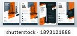 flyer design set. modern flyer... | Shutterstock .eps vector #1893121888