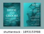 modern abstract luxury wedding...   Shutterstock .eps vector #1893153988