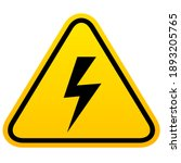 Electric Shock Hazard Vector...