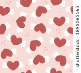 seamless pattern with funny... | Shutterstock .eps vector #1893265165