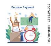 pension fund. saving money for... | Shutterstock .eps vector #1893291022