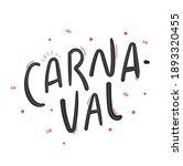 carnaval. carnival. brazilian...   Shutterstock .eps vector #1893320455