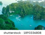 Halong Bay  Vietnam. Unesco...