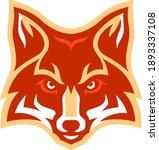 head of aggressive ref fox   Shutterstock .eps vector #1893337108