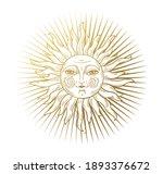 heaven illustration  stylized... | Shutterstock .eps vector #1893376672
