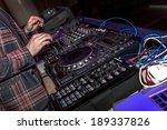 odessa   april 7  night club.... | Shutterstock . vector #189337826