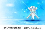 paramedic cartoon character... | Shutterstock .eps vector #1893431638