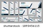 set of profesional business... | Shutterstock .eps vector #1893456115