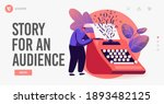 narration hobby landing page... | Shutterstock .eps vector #1893482125