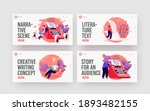 people enjoying narration ... | Shutterstock .eps vector #1893482155