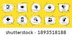business icons set. speech... | Shutterstock .eps vector #1893518188