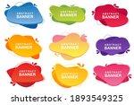 set of templates for logo...   Shutterstock .eps vector #1893549325
