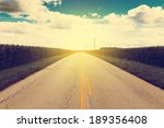 country road | Shutterstock . vector #189356408