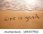 positive thinking concept | Shutterstock . vector #189357902
