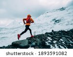 Woman Trail Runner Cross...