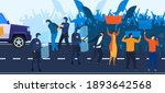 crisis  demonstration and... | Shutterstock .eps vector #1893642568