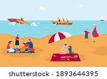 sea vacation  entertainment ... | Shutterstock .eps vector #1893644395