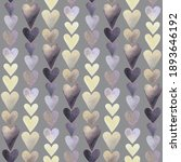 purple and yellow hearts... | Shutterstock . vector #1893646192