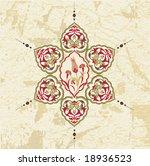 antique ottoman grungy... | Shutterstock .eps vector #18936523