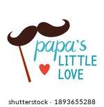 valentine day sticker papa... | Shutterstock .eps vector #1893655288