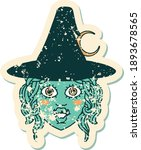 retro tattoo style half orc... | Shutterstock .eps vector #1893678565