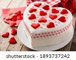 Heart Cake For St. Valentine's...