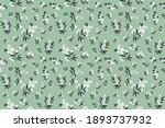 cute floral pattern in the... | Shutterstock .eps vector #1893737932