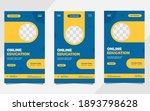 set of minimalist background... | Shutterstock .eps vector #1893798628