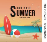 summer sale online with...   Shutterstock .eps vector #1893811102