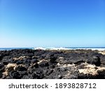 Blue Sky And Blue Water At A...