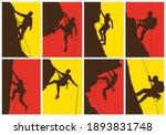 mountain climber  abstract... | Shutterstock .eps vector #1893831748