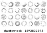 speed lines in circle form.... | Shutterstock . vector #1893831895